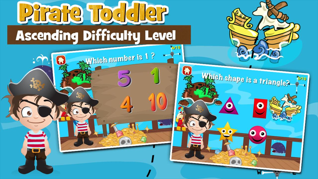 Pirate Toddler Kids Games Free 3.15 Screenshot 2