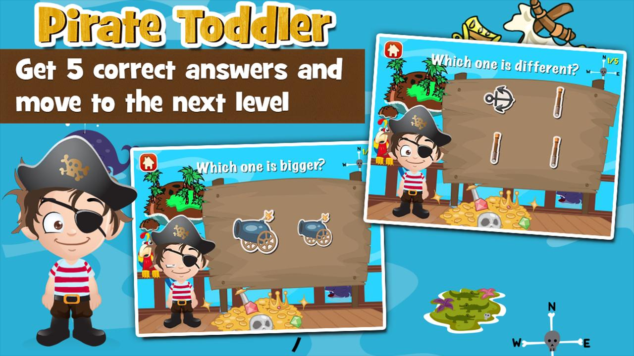 Pirate Toddler Kids Games Free 3.15 Screenshot 3