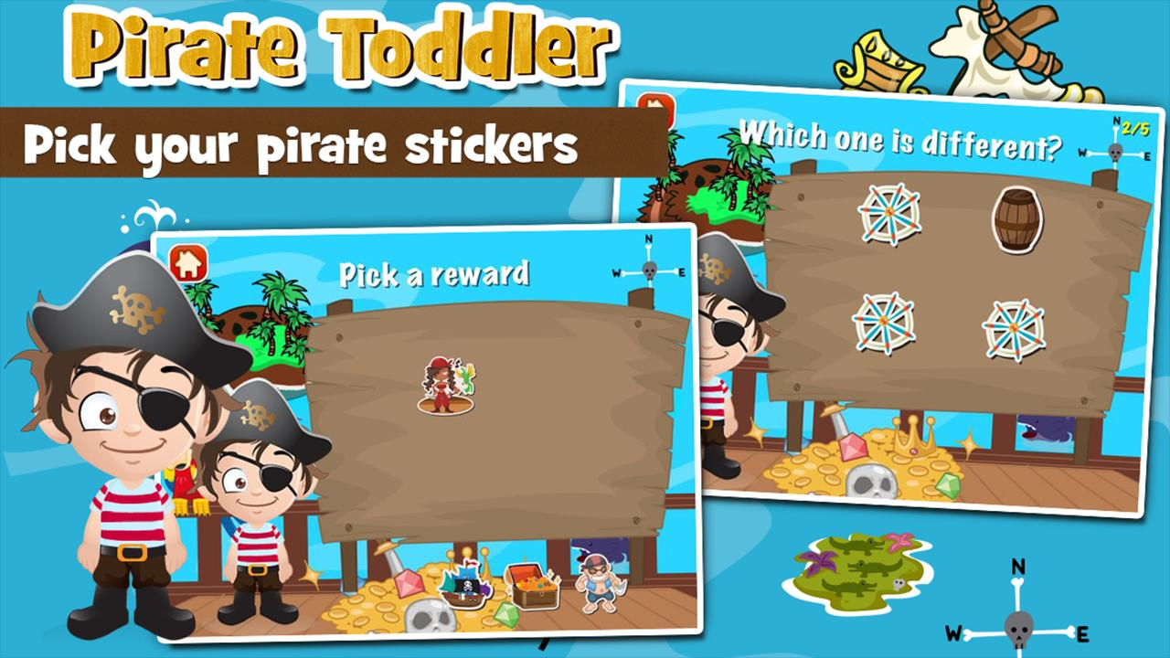 Pirate Toddler Kids Games Free 3.15 Screenshot 4