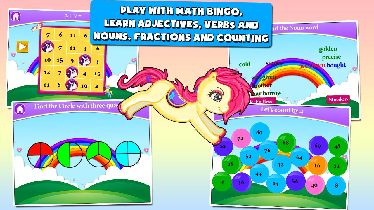 Pony Games for First Graders 3.15 Screenshot 2