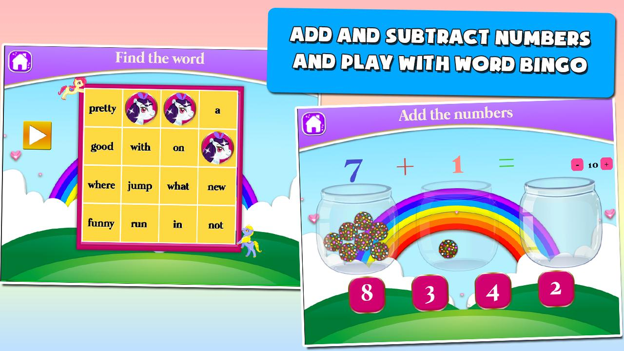 Pony Games for First Graders 3.15 Screenshot 5