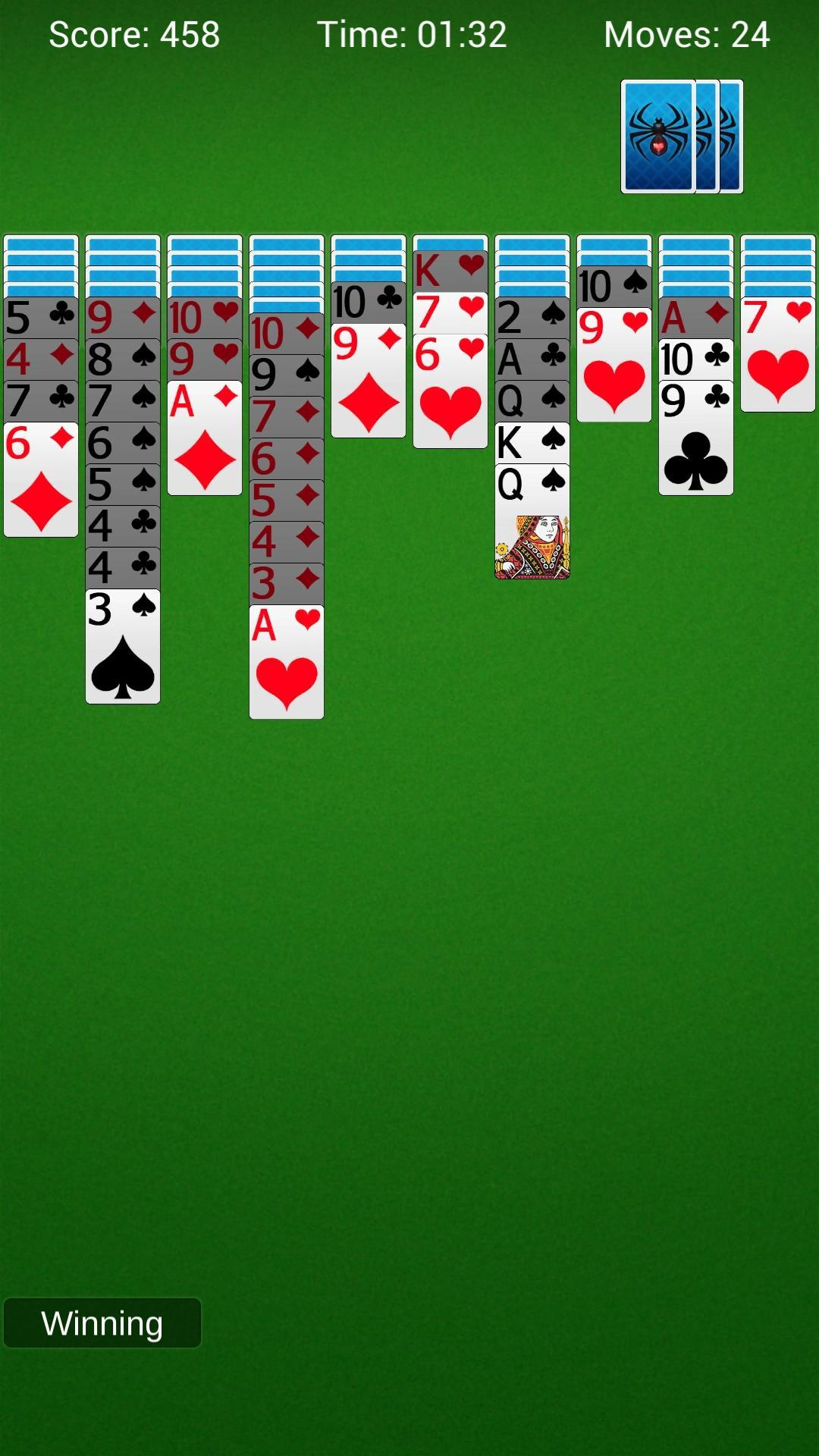 Spider Solitaire - Best Classic Card Games 1.6 Screenshot 3