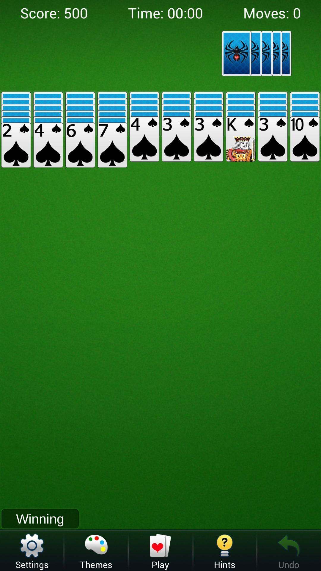 Spider Solitaire - Best Classic Card Games 1.6 Screenshot 4