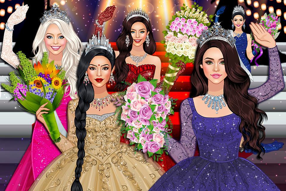 Beauty Queen Dress Up - Star Girl Fashion 1.1 Screenshot 1