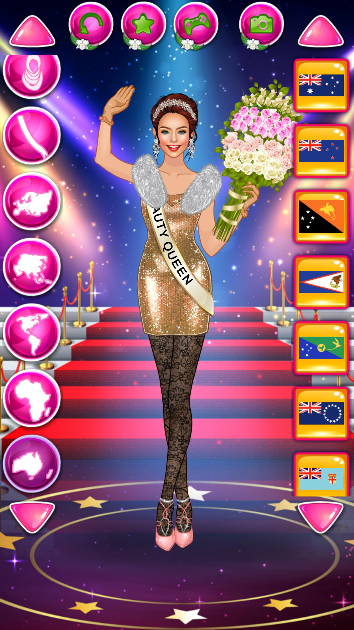Beauty Queen Dress Up - Star Girl Fashion 1.1 Screenshot 14