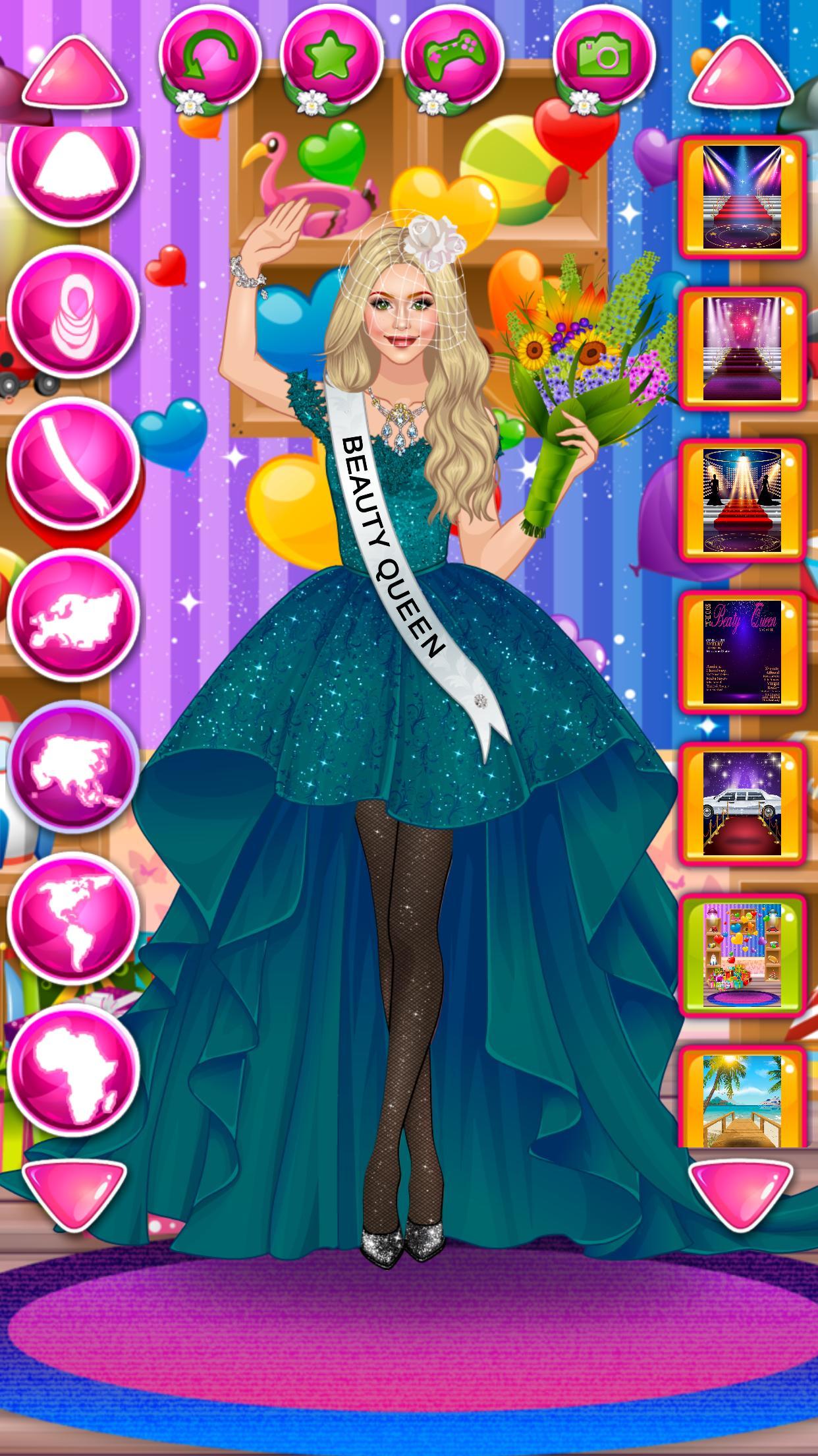 Beauty Queen Dress Up - Star Girl Fashion 1.1 Screenshot 15