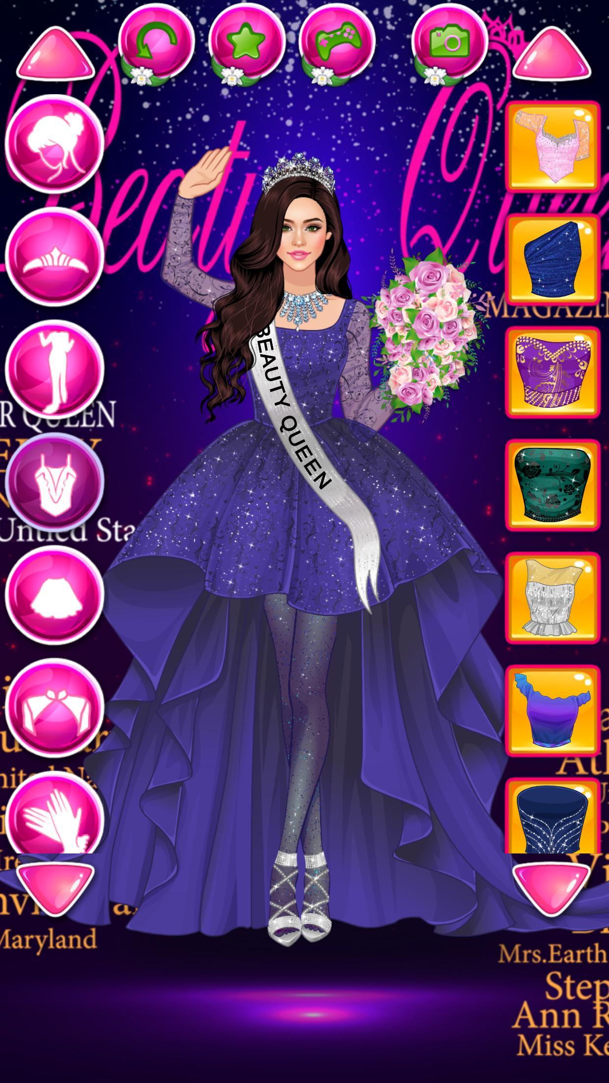 Beauty Queen Dress Up - Star Girl Fashion 1.1 Screenshot 2