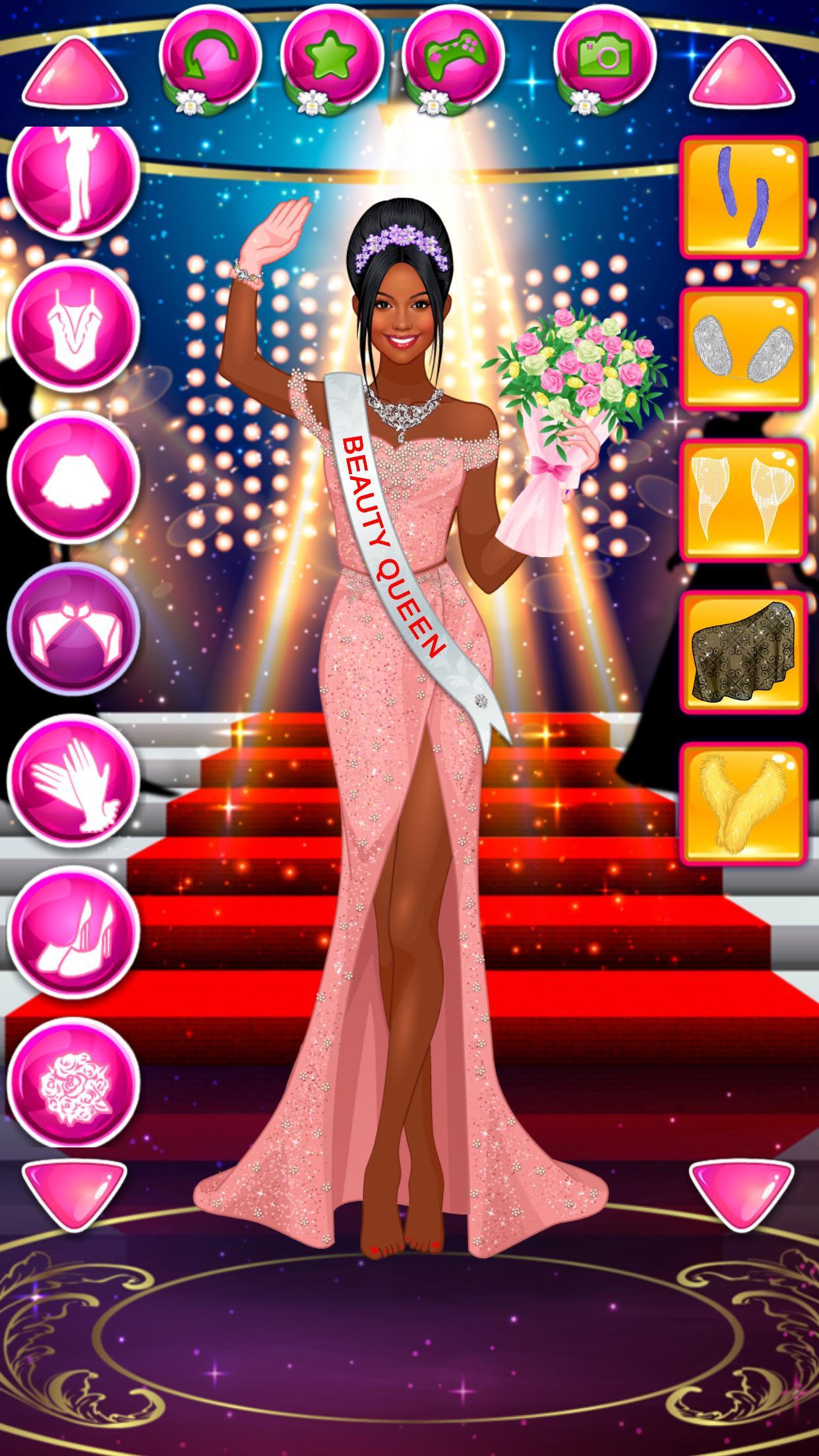 Beauty Queen Dress Up - Star Girl Fashion 1.1 Screenshot 3