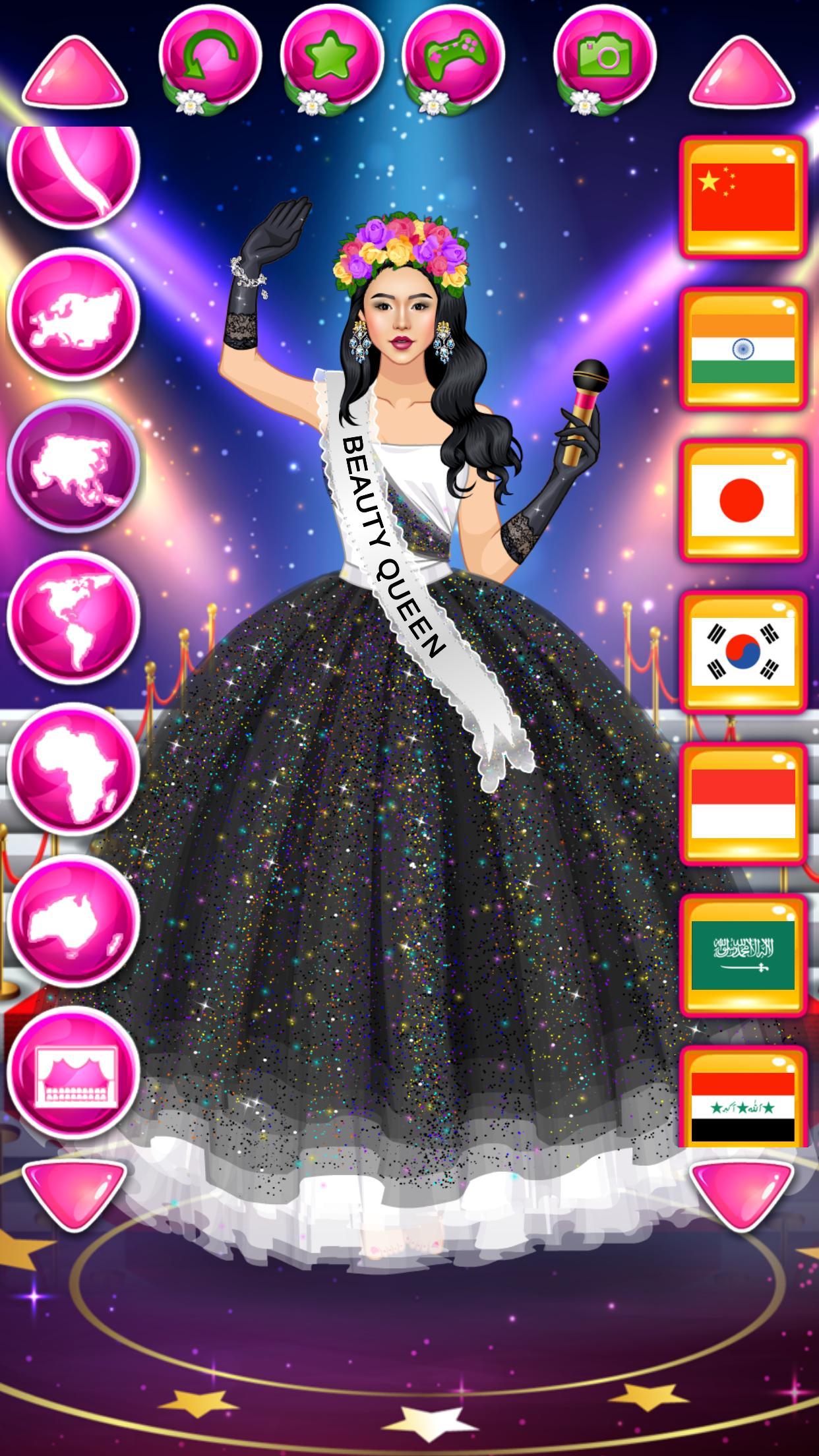 Beauty Queen Dress Up - Star Girl Fashion 1.1 Screenshot 5