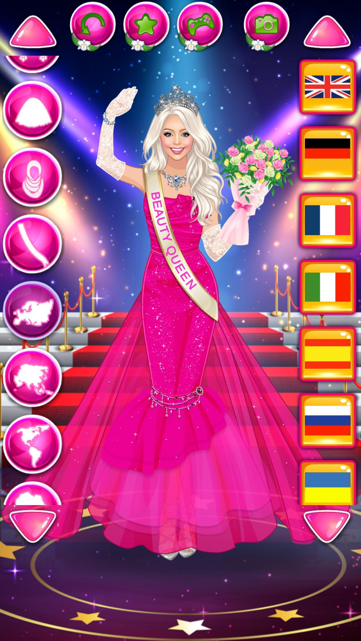 Beauty Queen Dress Up - Star Girl Fashion 1.1 Screenshot 7