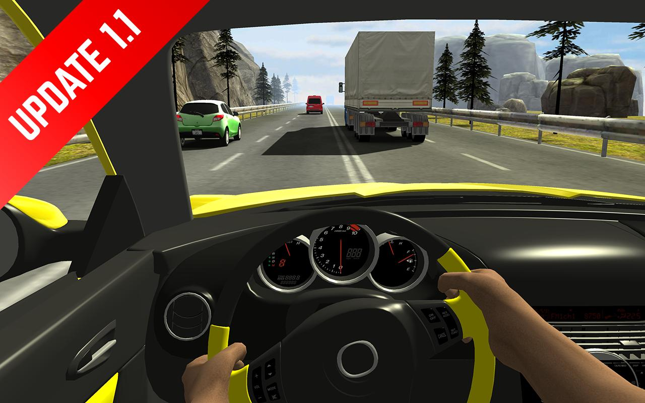 Racing in Car 1.4 Screenshot 2