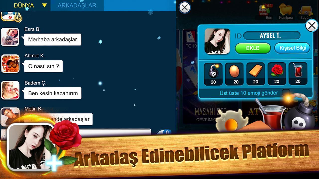 Fun 101 Okey 1.8.436.456 Screenshot 14