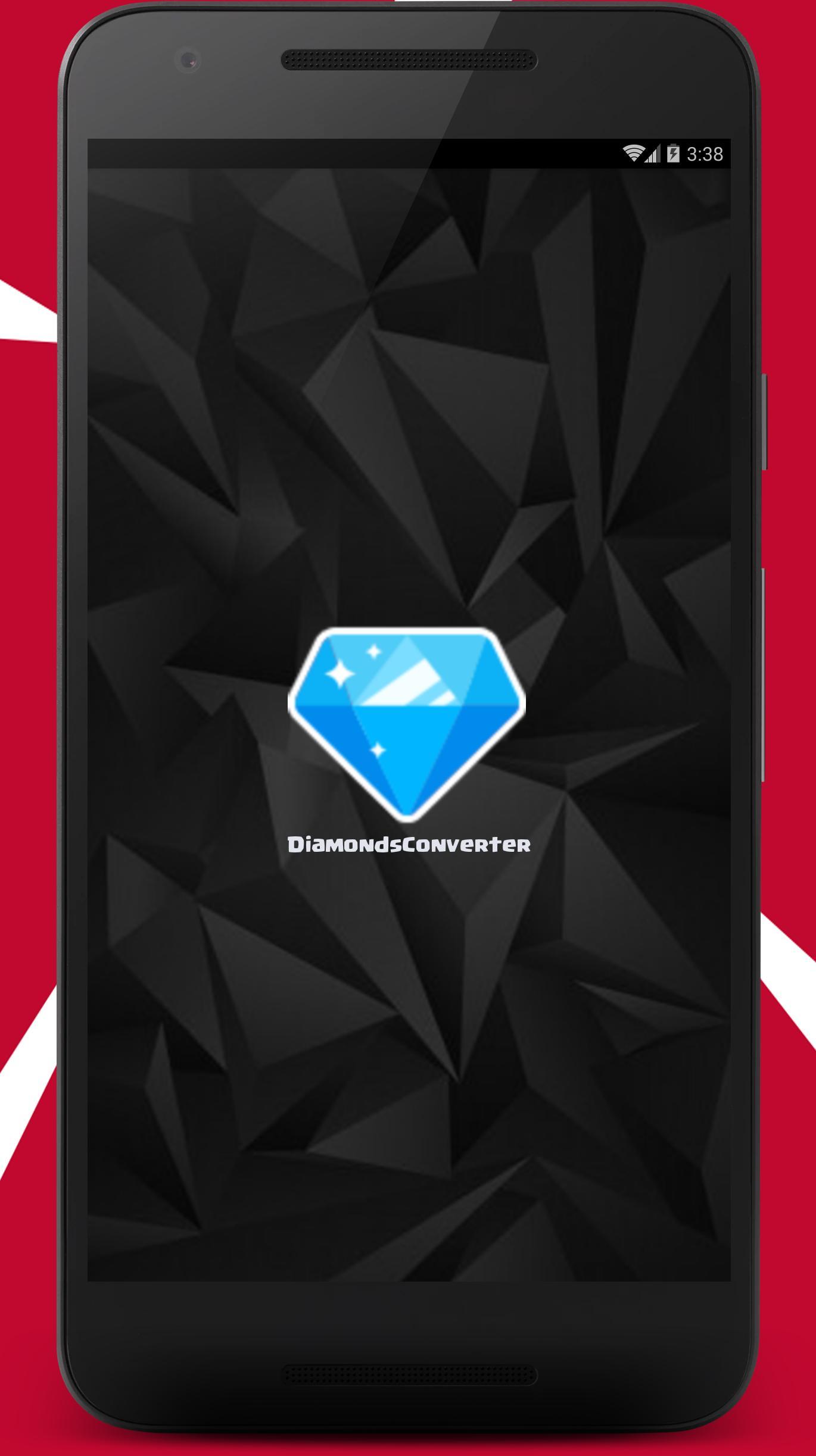 Diamonds For Free Fire Converter 2020 1.3 Screenshot 1