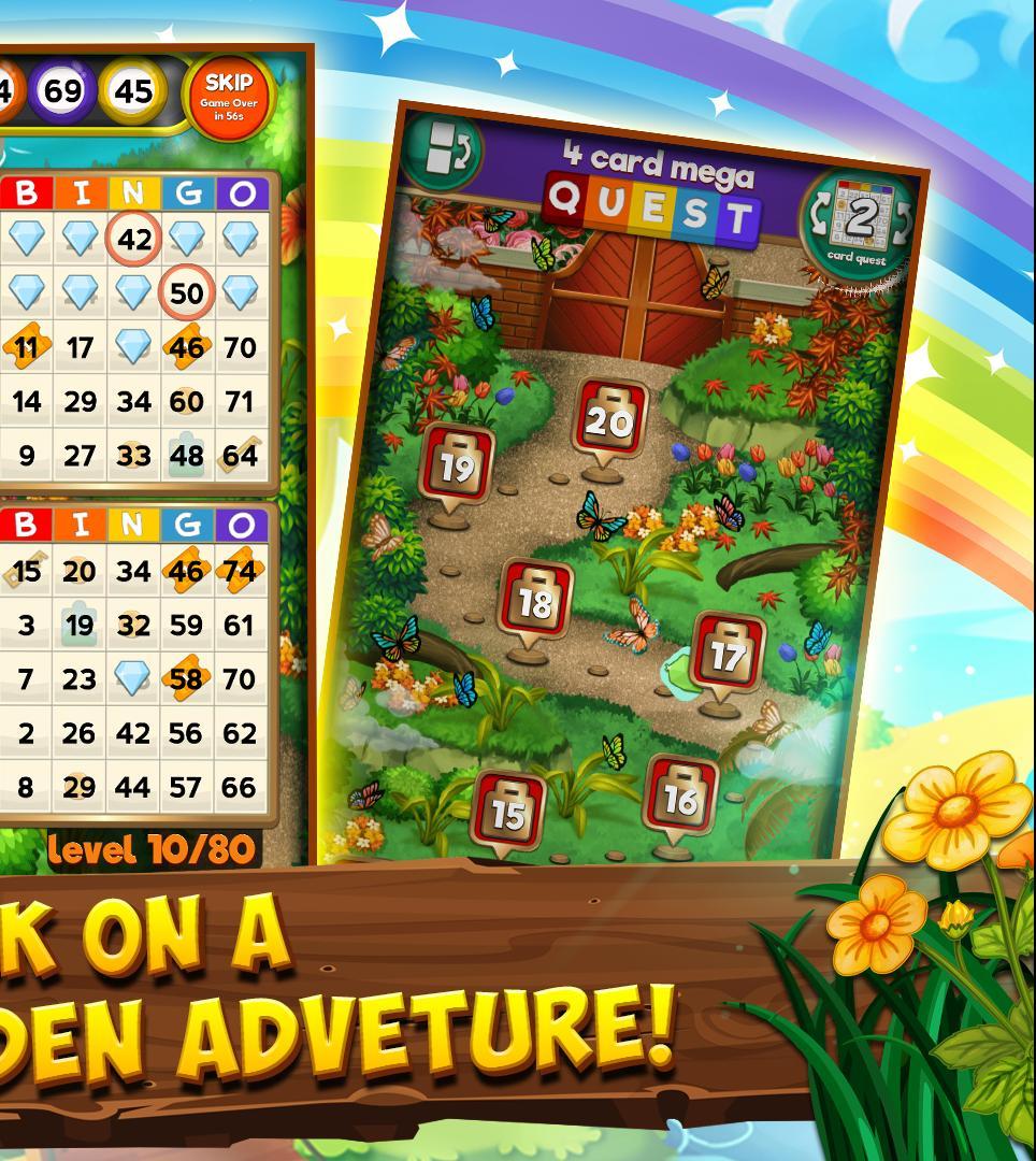 Bingo Quest - Summer Garden Adventure 64.123 Screenshot 16