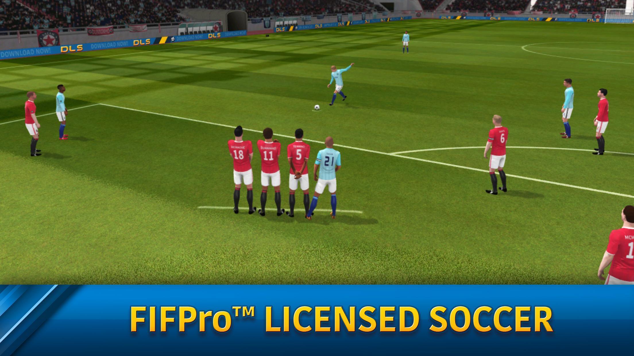 Dream League Soccer 6.13 Screenshot 1