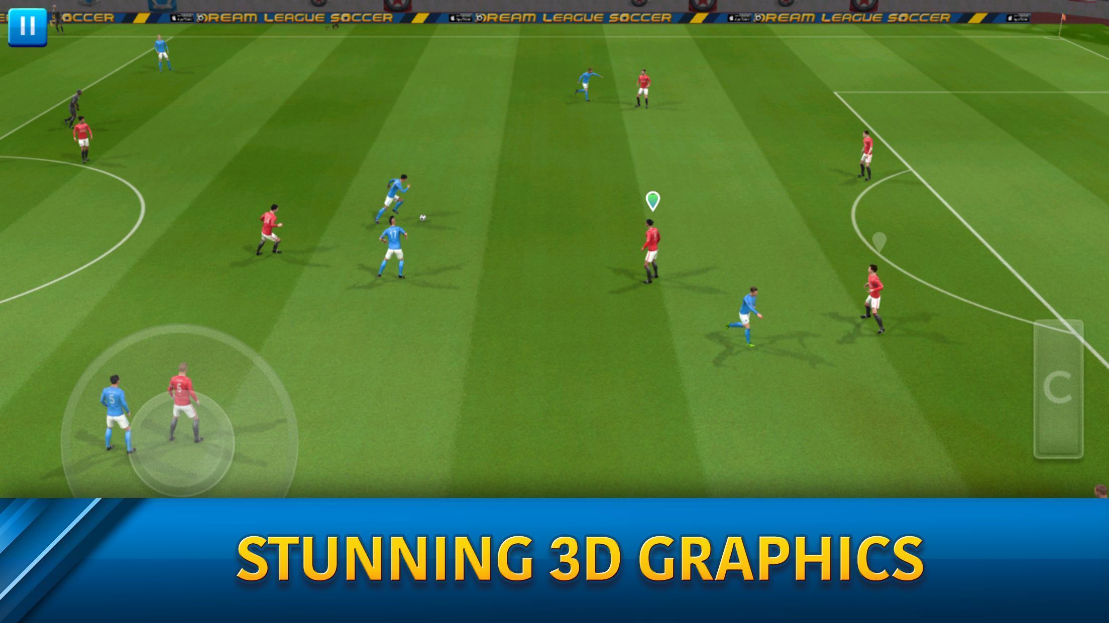 Dream League Soccer 6.13 Screenshot 2