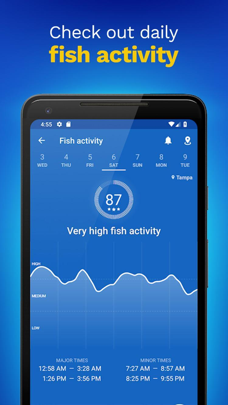 Fishing Points GPS, Tides & Fishing Forecast 2.9.6 Screenshot 4