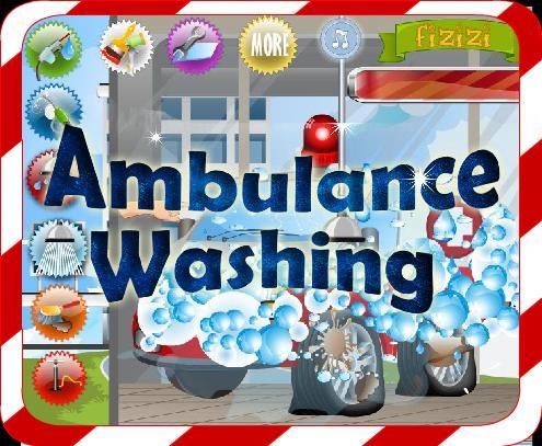 Car Wash Games -Ambulance Wash 5.8.3 Screenshot 1