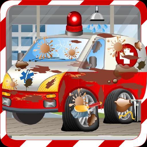 Car Wash Games -Ambulance Wash 5.8.3 Screenshot 2