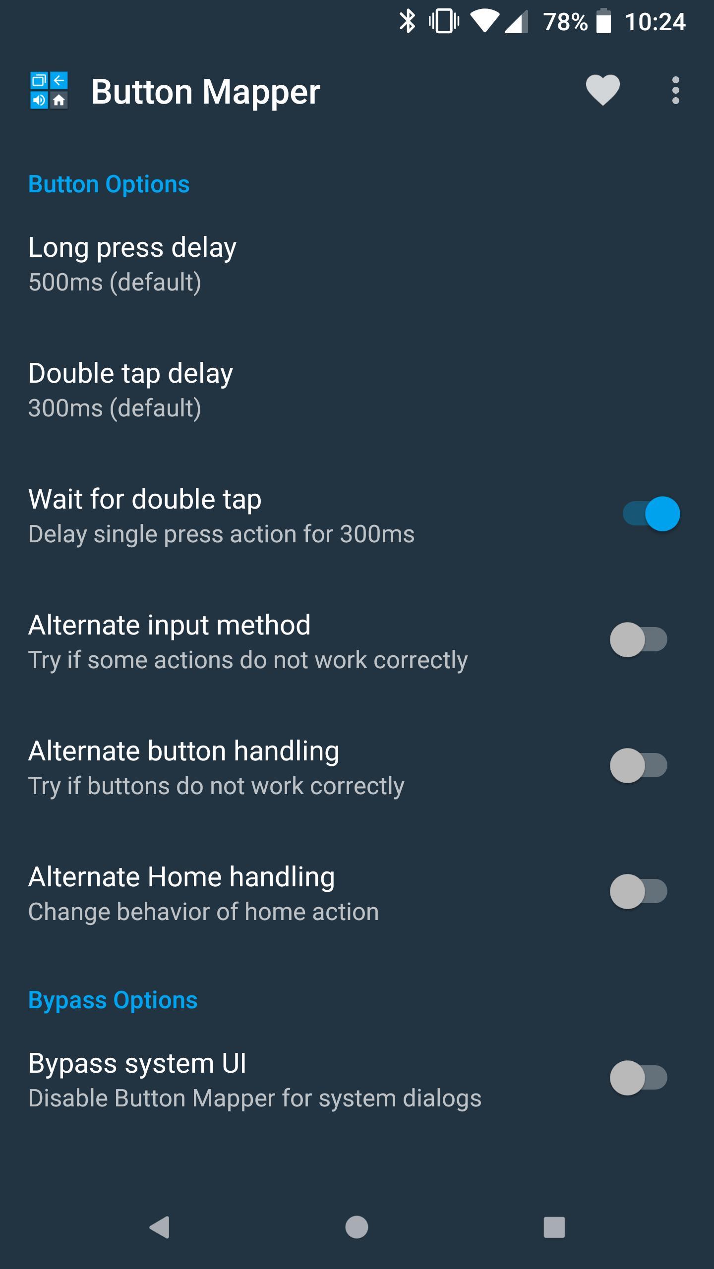 Button Mapper Remap your keys 1.40 Screenshot 6