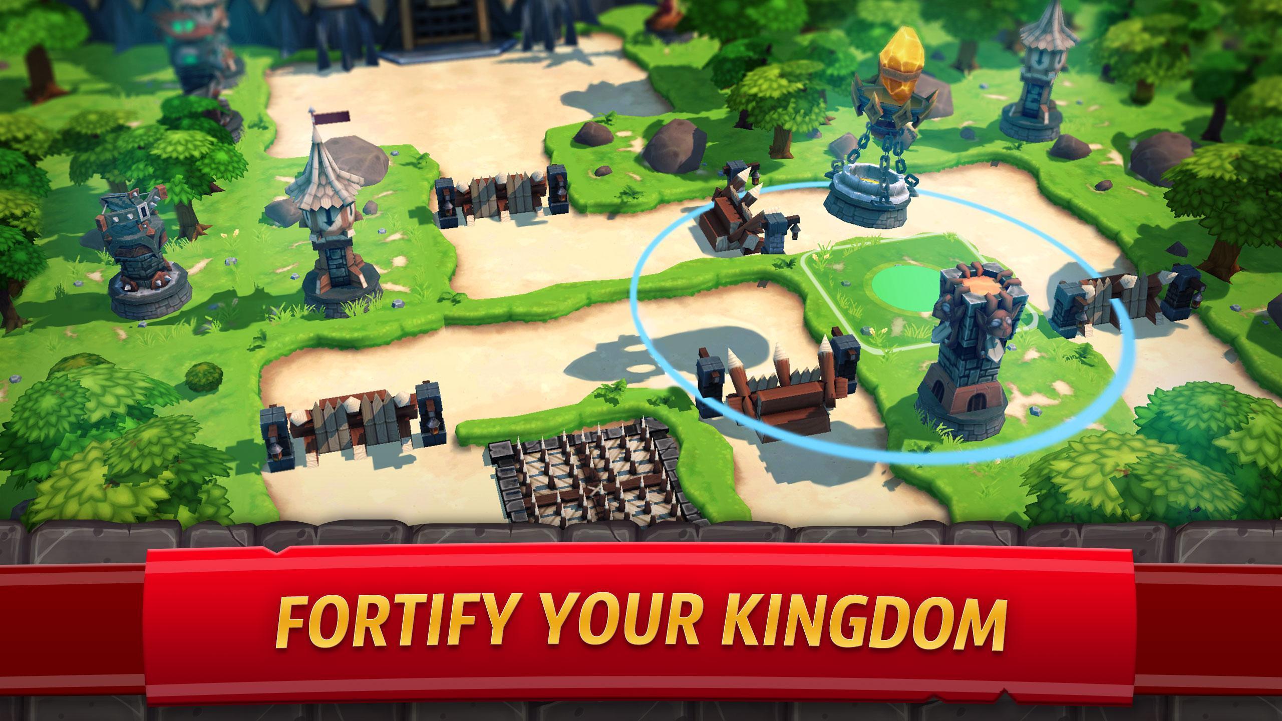 Royal Revolt 2: Tower Defense RTS & Castle Builder 6.2.2 Screenshot 2