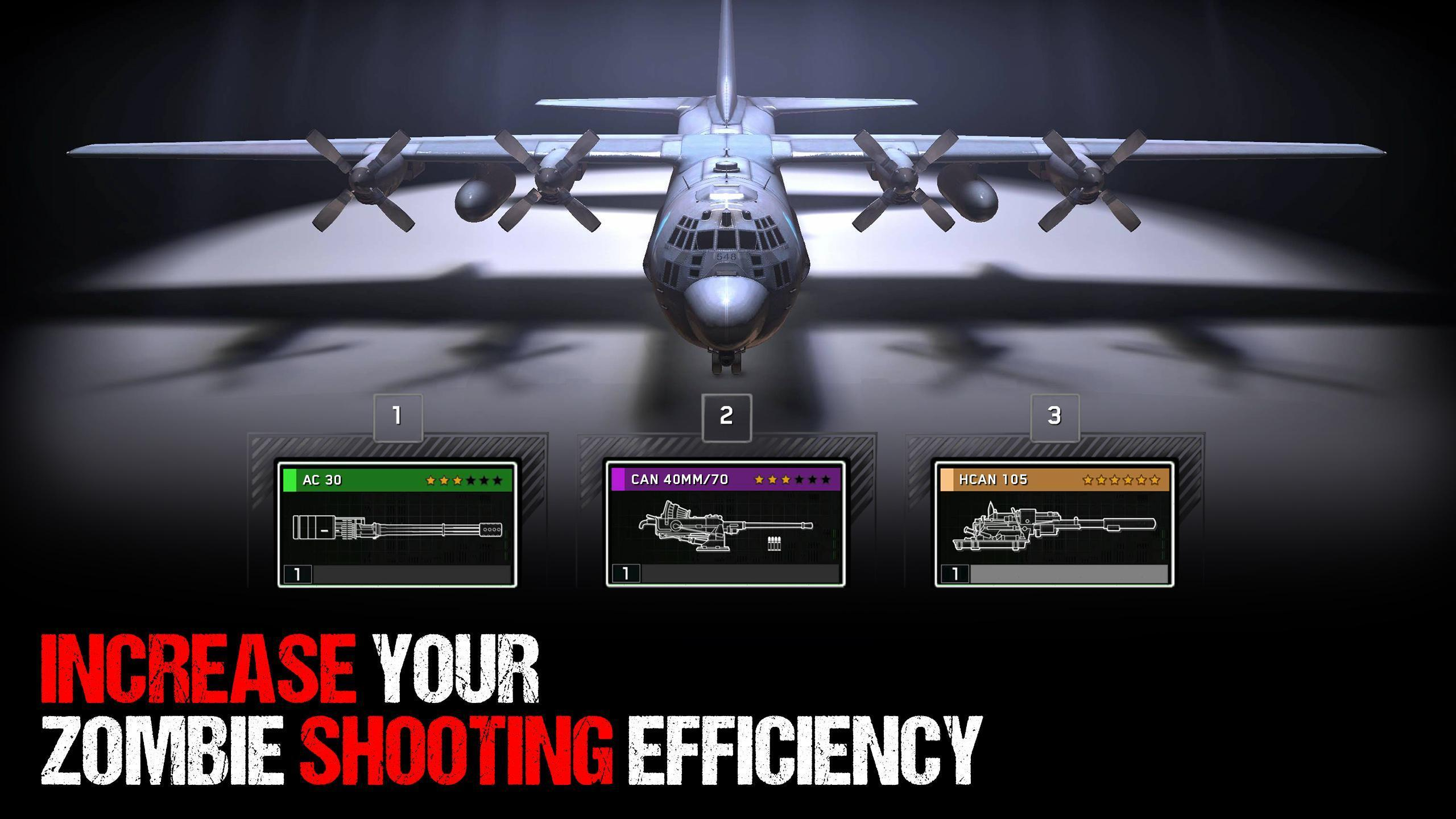 Zombie Gunship Survival 1.6.9 Screenshot 1
