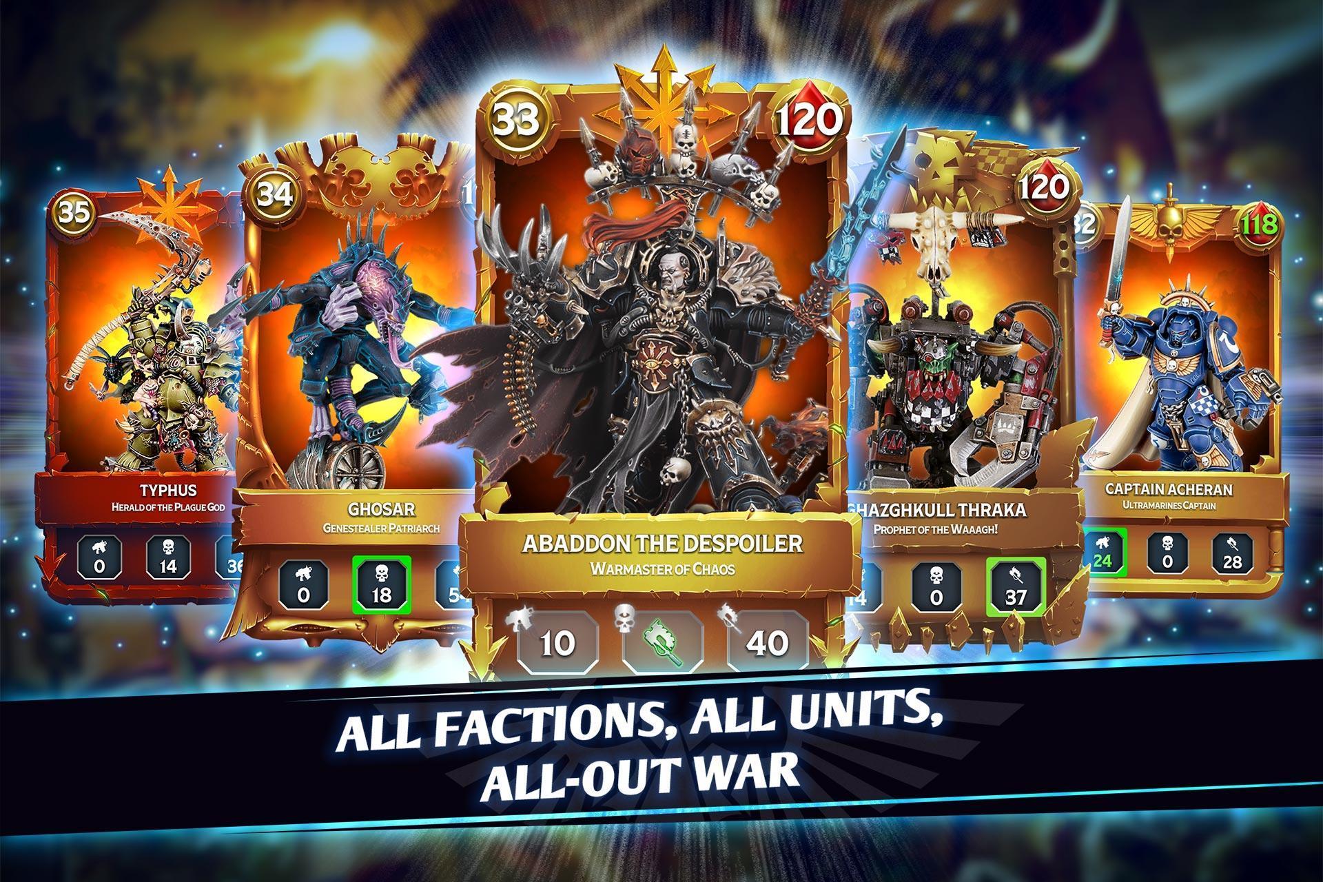 Warhammer Combat Cards - 40K Edition 30.10 Screenshot 1