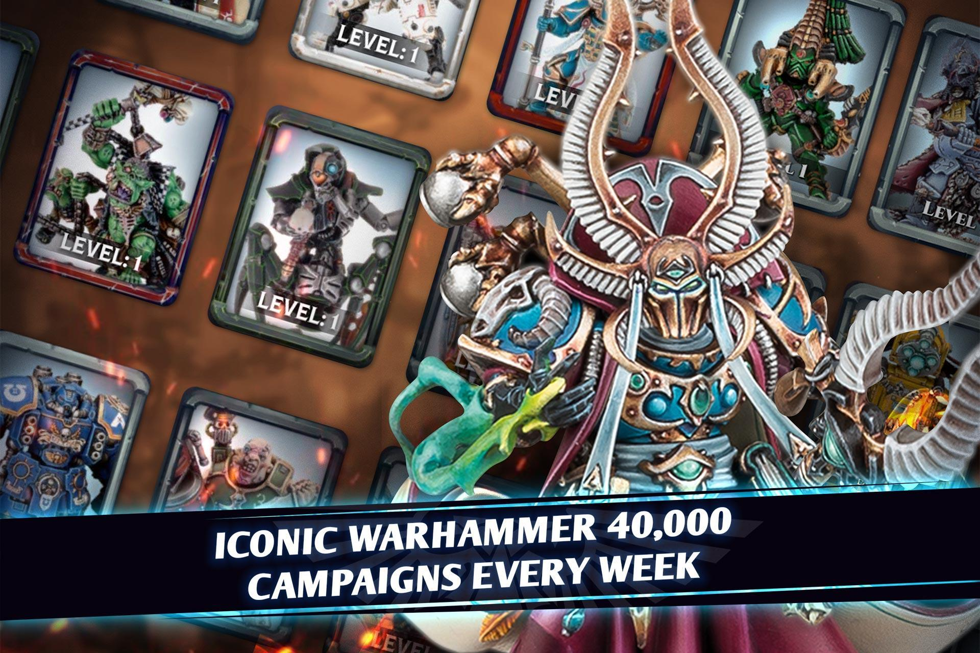 Warhammer Combat Cards - 40K Edition 30.10 Screenshot 2