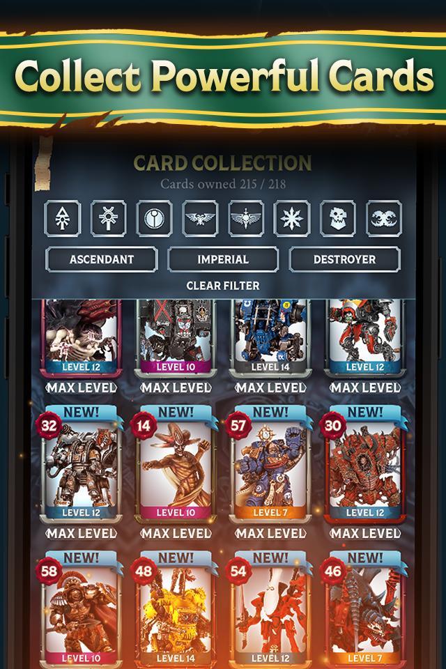 Warhammer Combat Cards - 40K Edition 30.10 Screenshot 5