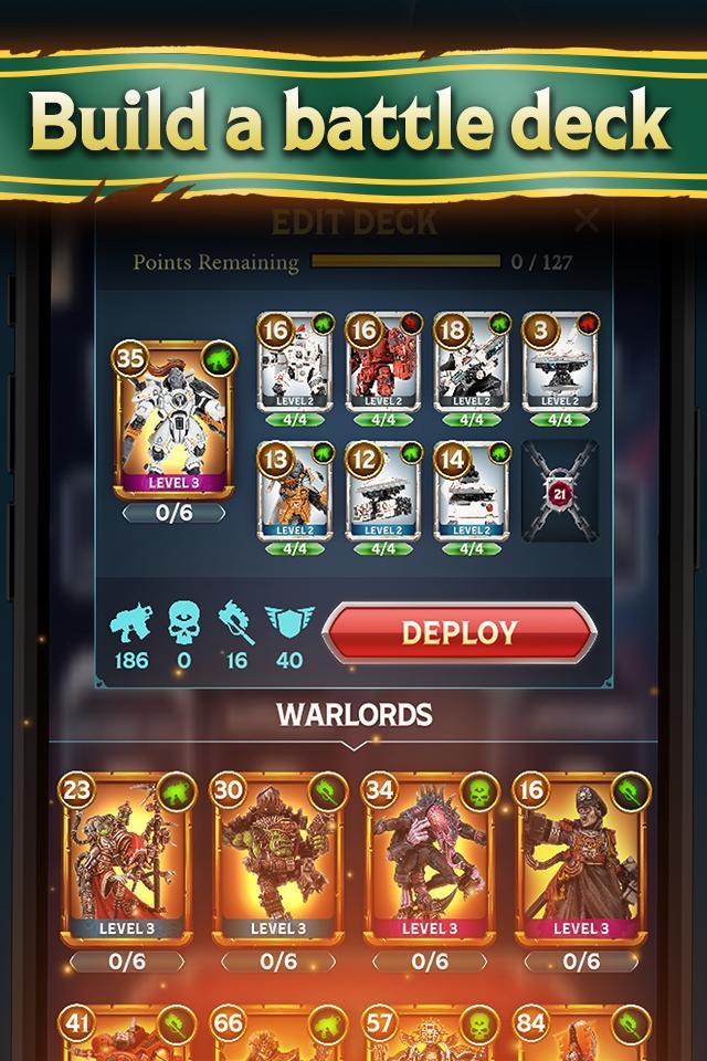 Warhammer Combat Cards - 40K Edition 30.10 Screenshot 6