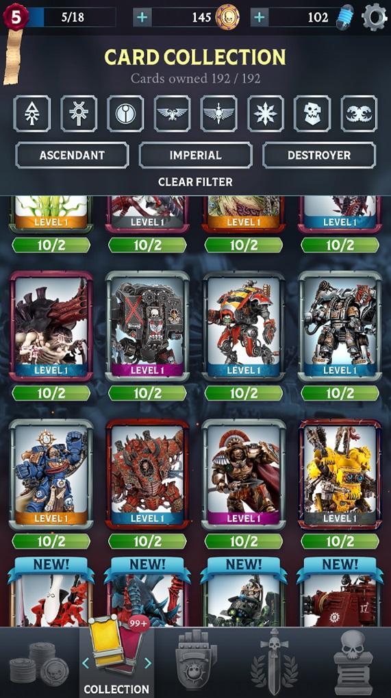 Warhammer Combat Cards - 40K Edition 30.10 Screenshot 8