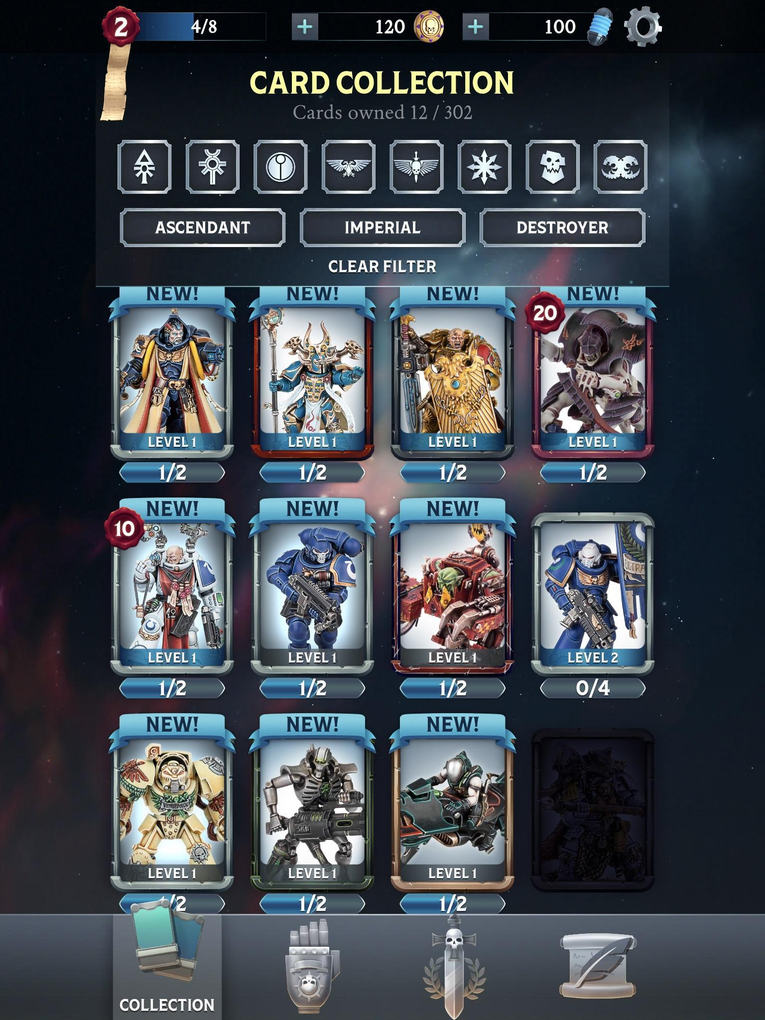 Warhammer Combat Cards - 40K Edition 30.10 Screenshot 9