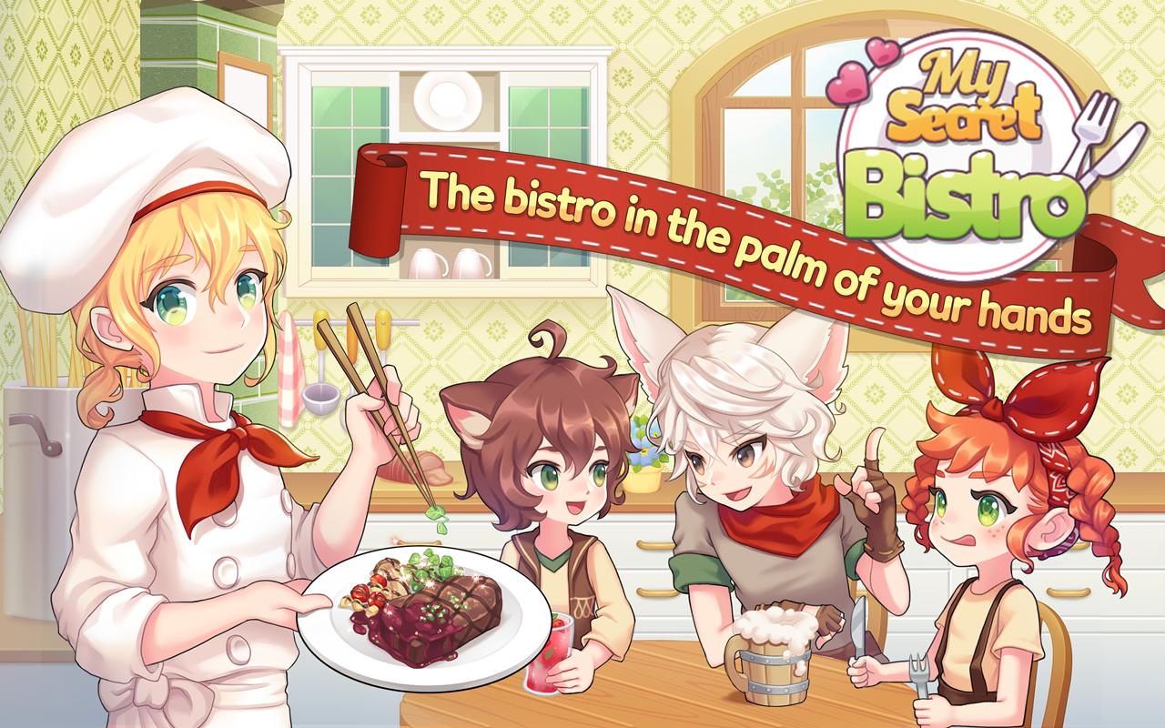 My Secret Bistro Play cooking game with friends 1.6.4 Screenshot 1