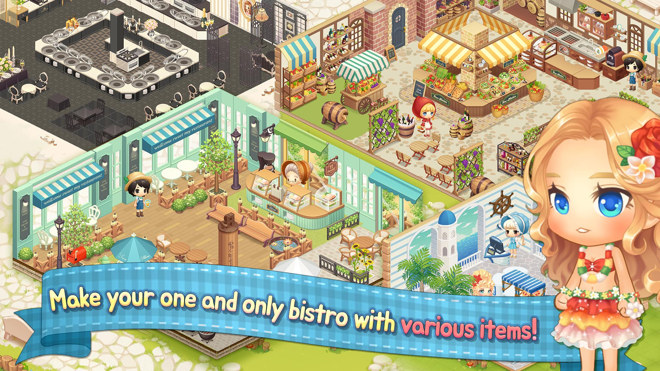 My Secret Bistro Play cooking game with friends 1.6.4 Screenshot 11