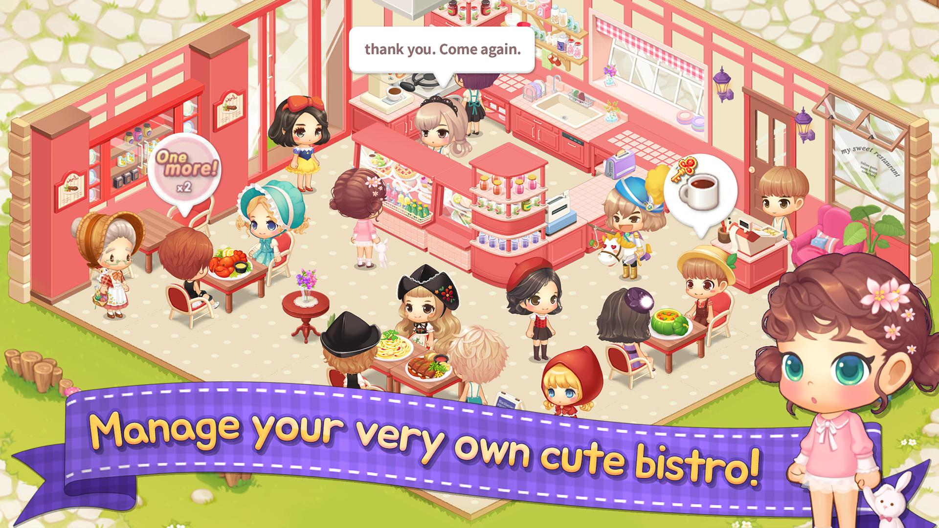 My Secret Bistro Play cooking game with friends 1.6.4 Screenshot 14