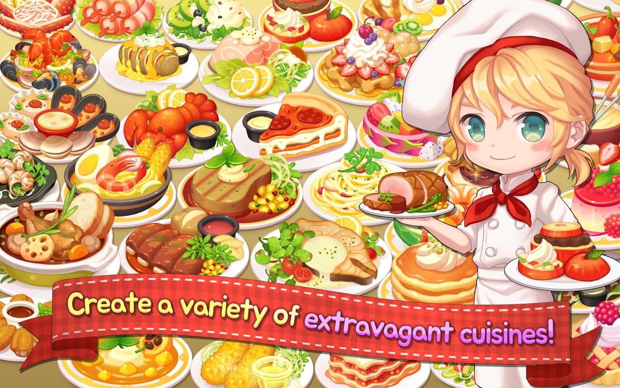 My Secret Bistro Play cooking game with friends 1.6.4 Screenshot 3
