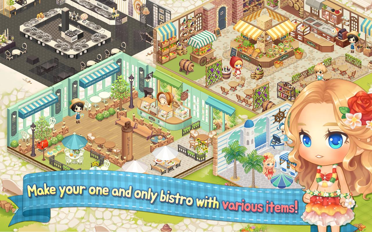 My Secret Bistro Play cooking game with friends 1.6.4 Screenshot 5