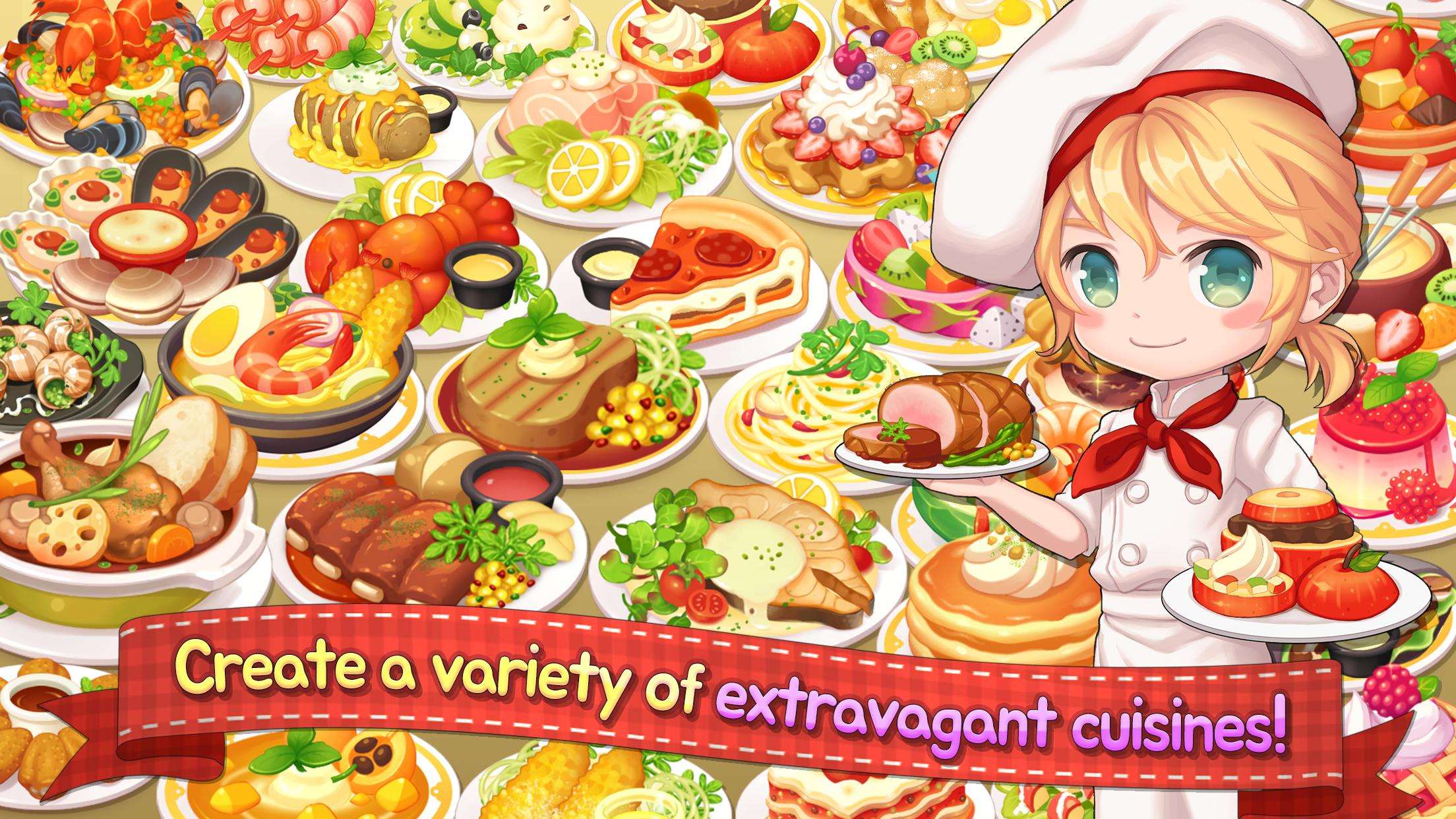 My Secret Bistro Play cooking game with friends 1.6.4 Screenshot 9