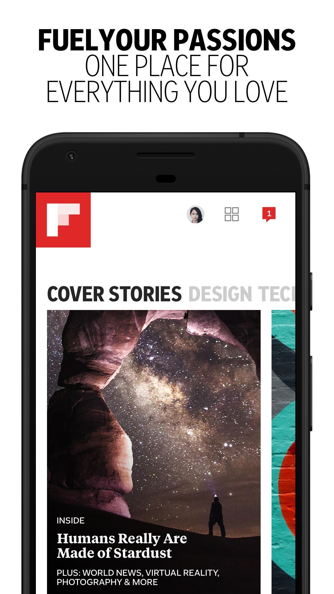 Flipboard Latest News, Top Stories & Lifestyle 4.2.59 Screenshot 1