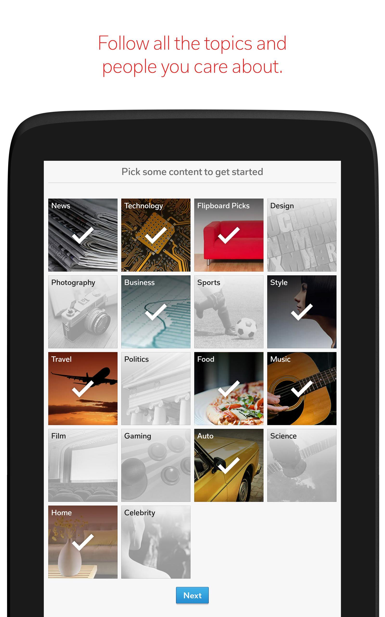 Flipboard Latest News, Top Stories & Lifestyle 4.2.59 Screenshot 10