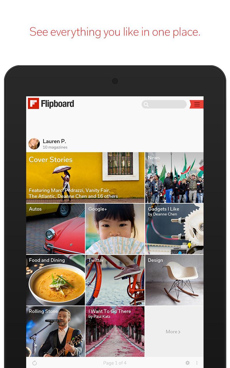 Flipboard Latest News, Top Stories & Lifestyle 4.2.59 Screenshot 13