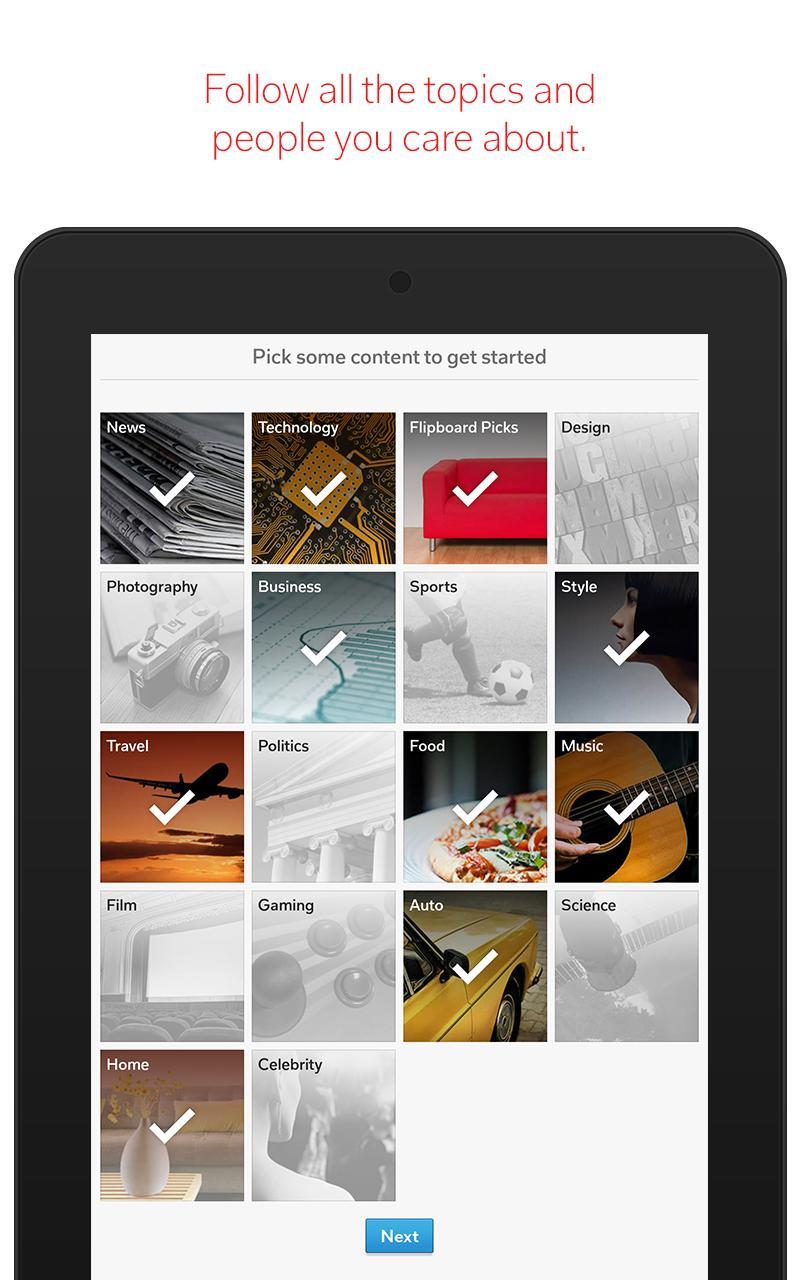 Flipboard Latest News, Top Stories & Lifestyle 4.2.59 Screenshot 16