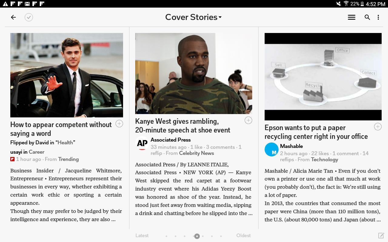 Flipboard Latest News, Top Stories & Lifestyle 4.2.59 Screenshot 18