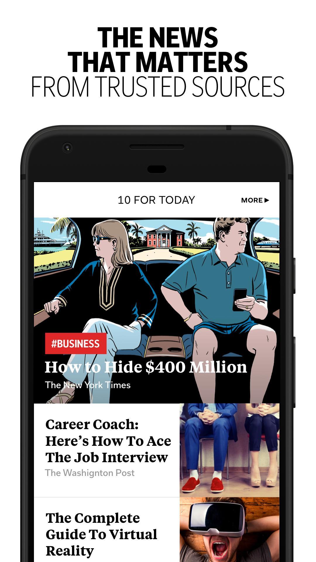 Flipboard Latest News, Top Stories & Lifestyle 4.2.59 Screenshot 2