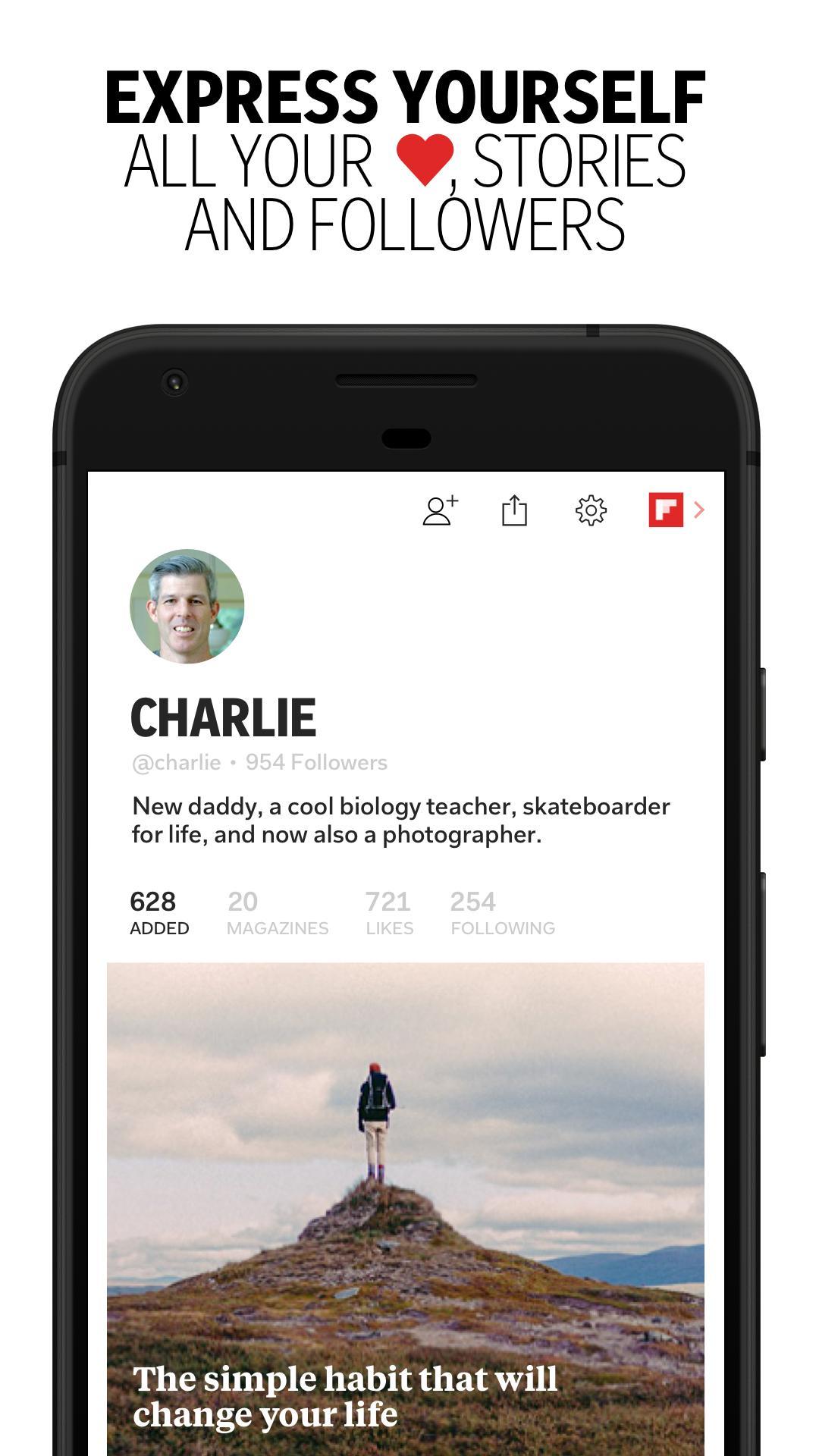 Flipboard Latest News, Top Stories & Lifestyle 4.2.59 Screenshot 5