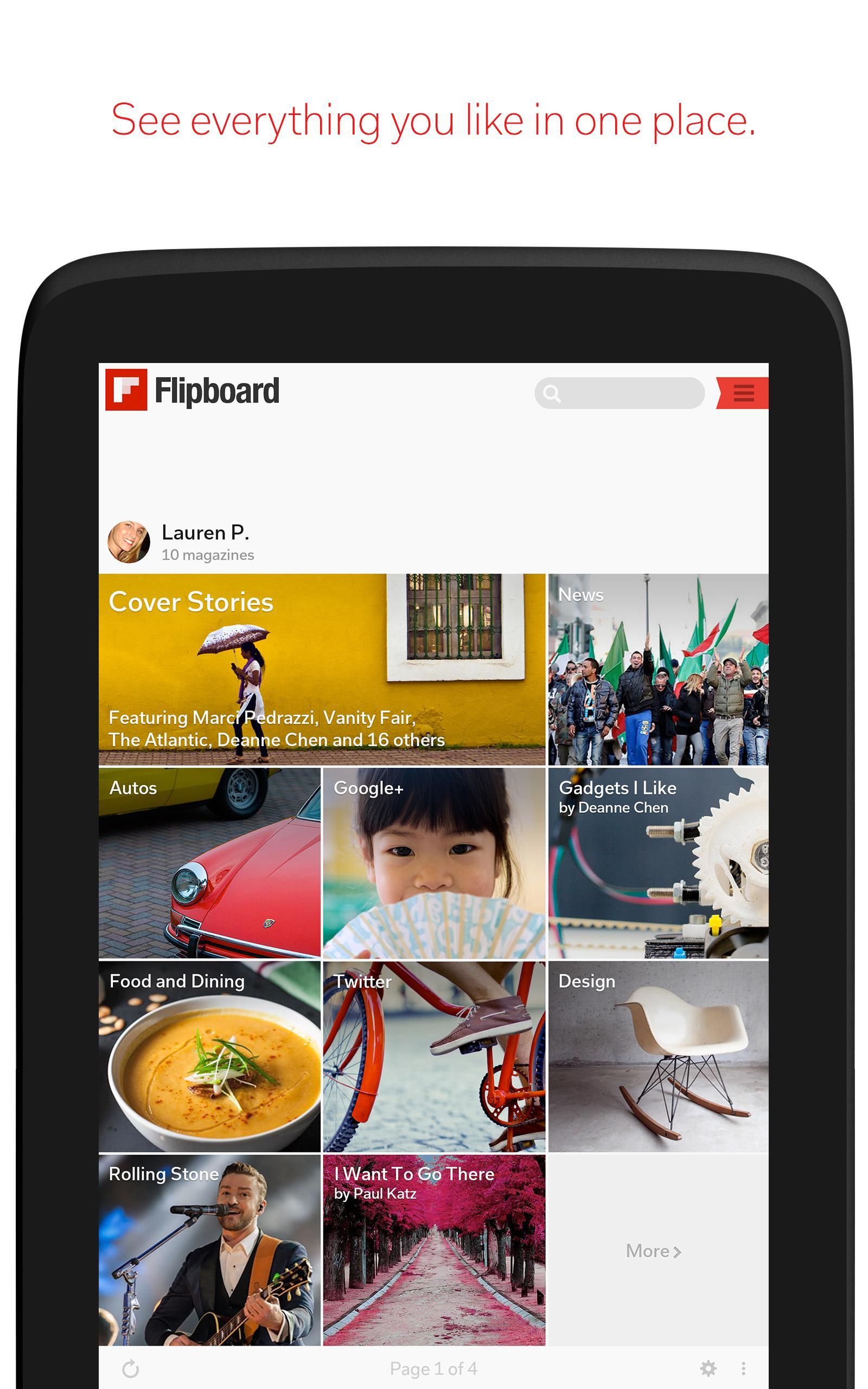 Flipboard Latest News, Top Stories & Lifestyle 4.2.59 Screenshot 7