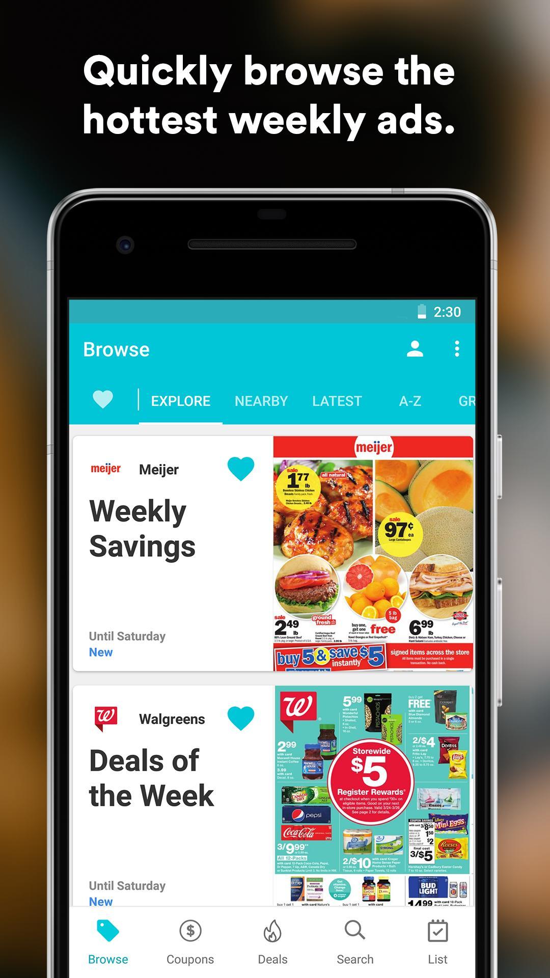 Flipp Weekly Shopping 9.20 Screenshot 4