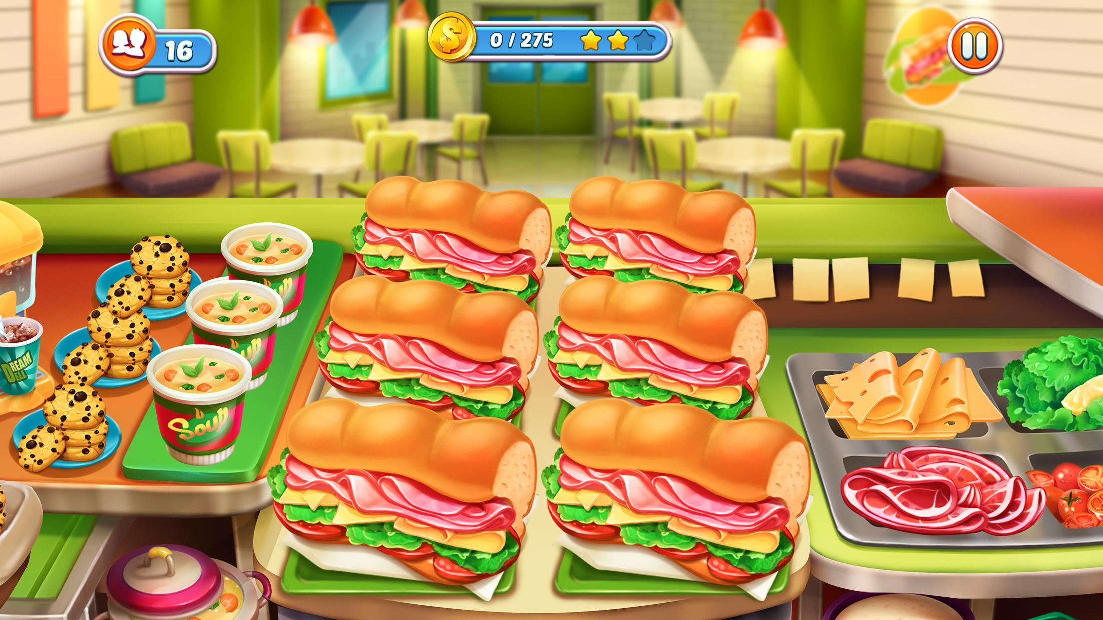 Cook It! Madness of Free Frenzy Cooking Games City 1.3.3 Screenshot 5