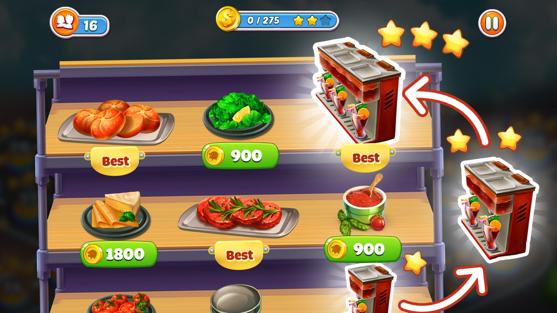 Cook It! Madness of Free Frenzy Cooking Games City 1.3.3 Screenshot 7