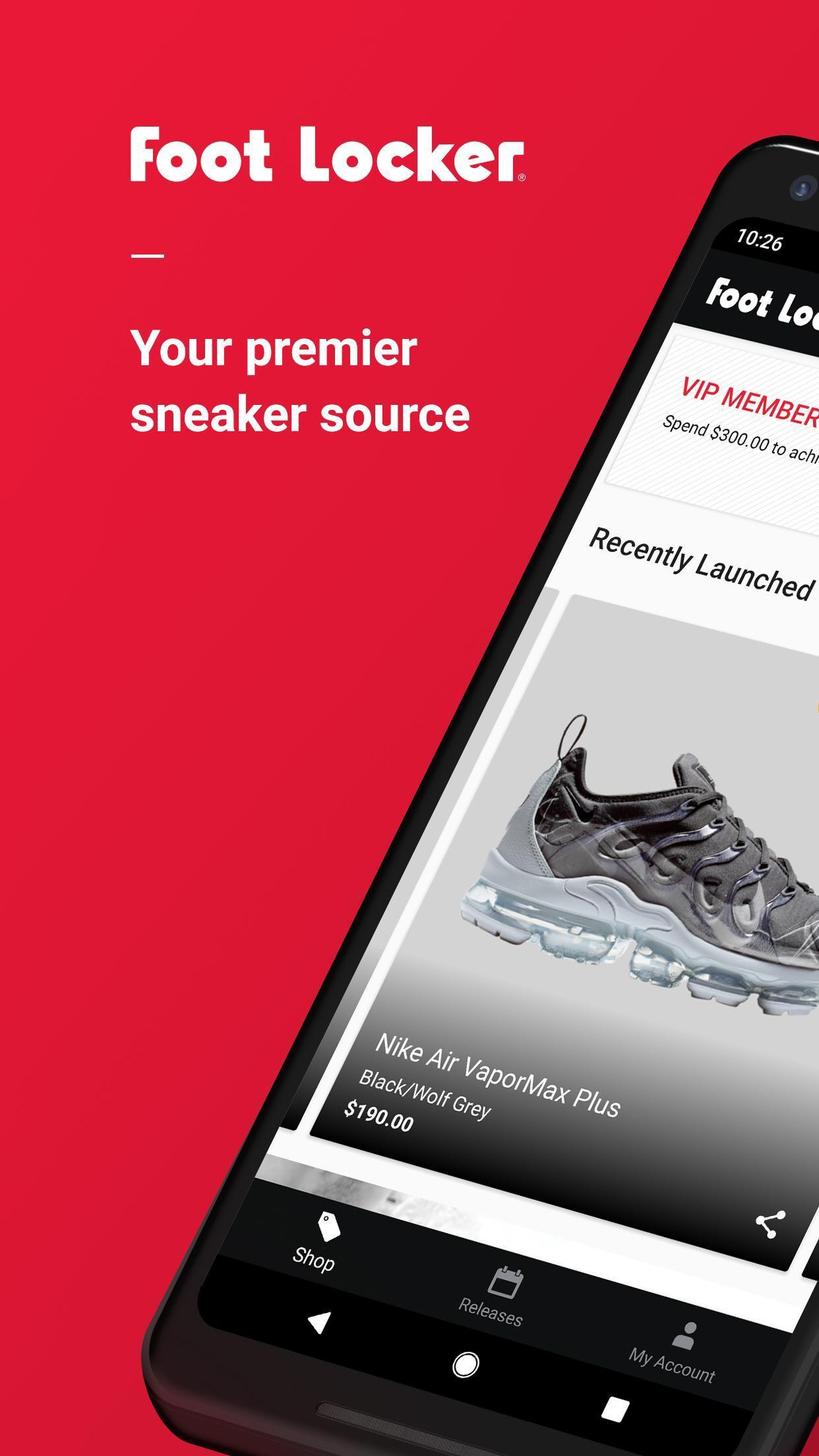 Foot Locker Sneakers, clothes & culture 3.8.8 Screenshot 1